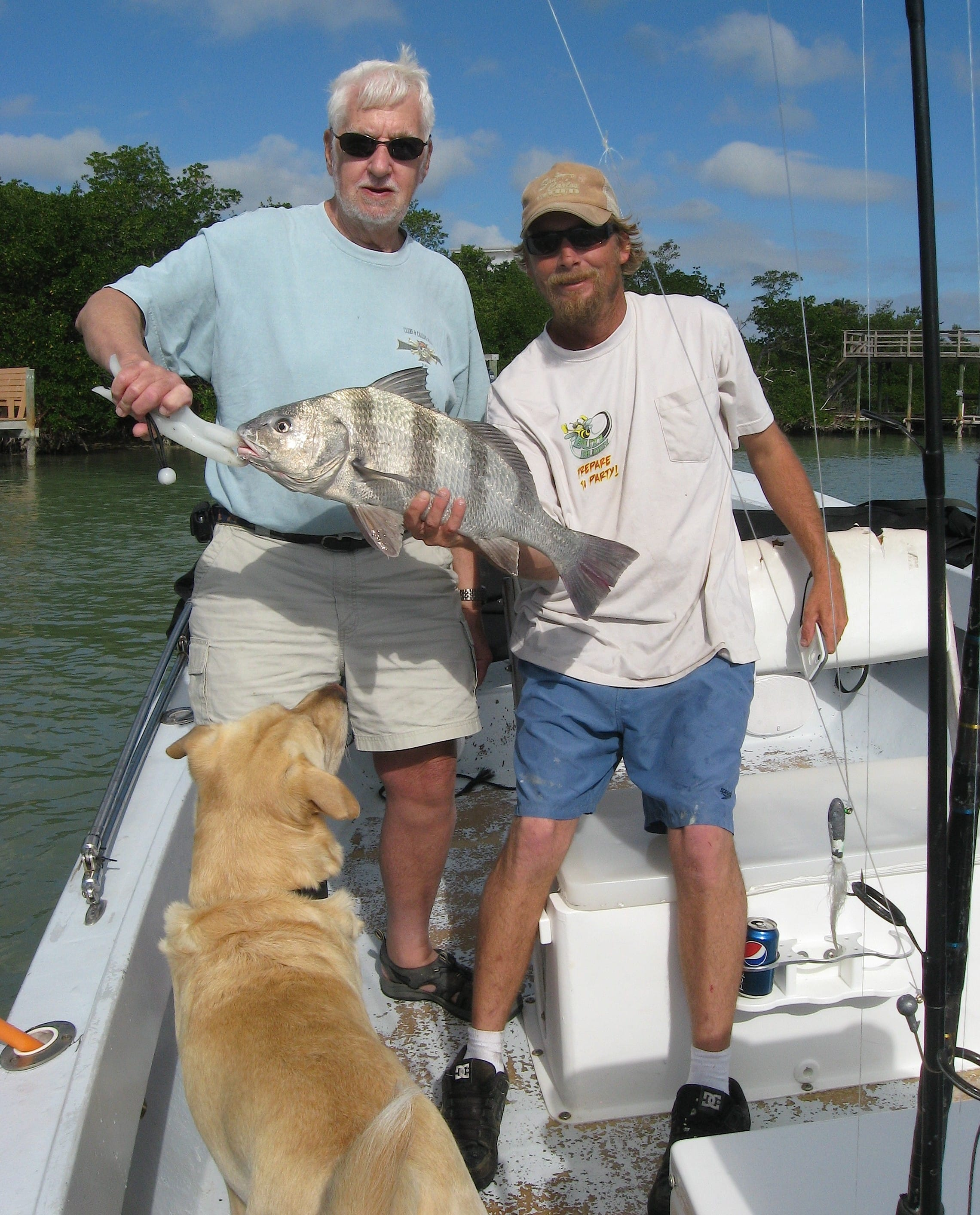 Hank rhett black drum courtesy of rhett murphy fort for Murphy s hook house fishing report