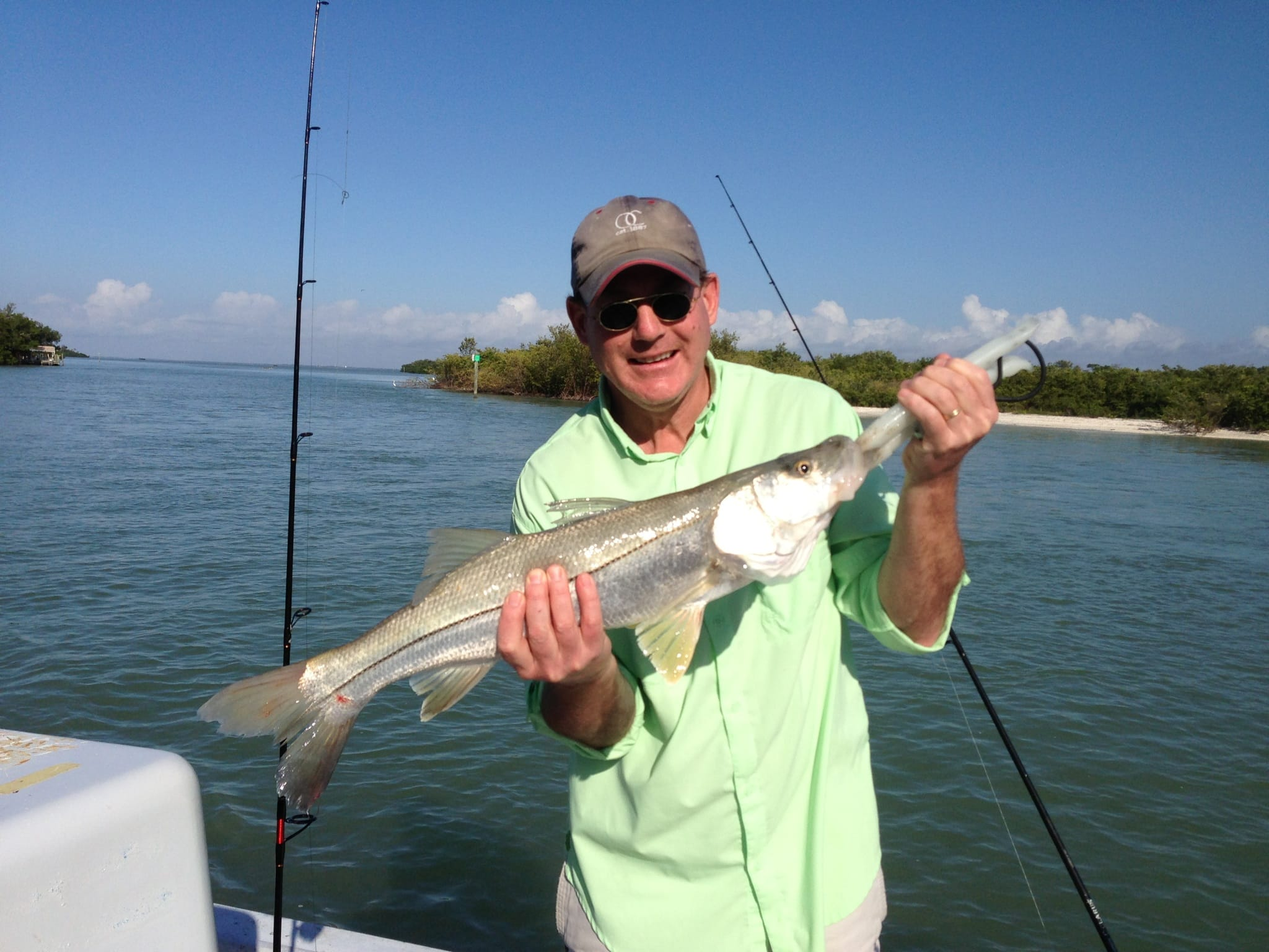 Fort myers fishing report snook fishing sanibel fort for Fishing for snook