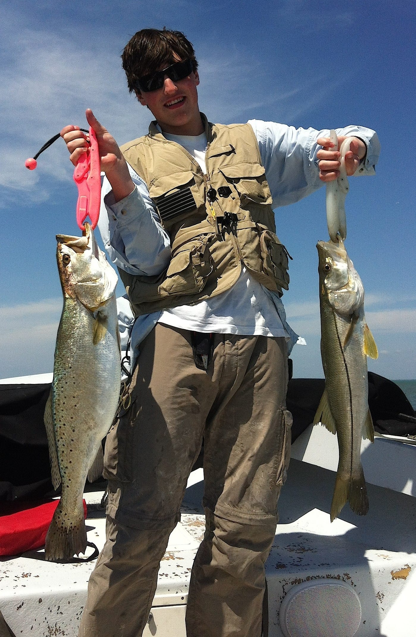 Fort myers fishing report 9 11 14 big sea trout for Fishing in fort myers