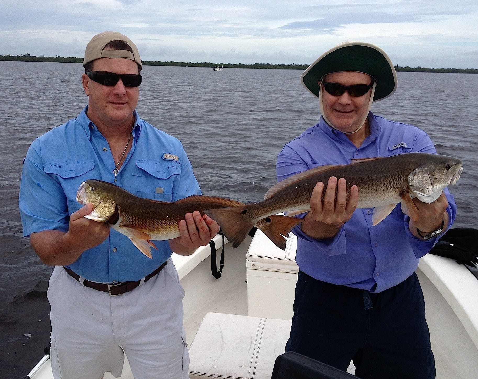 8 17 13 fort myers fishing report redfish sanibel for Half day fishing trips fort myers