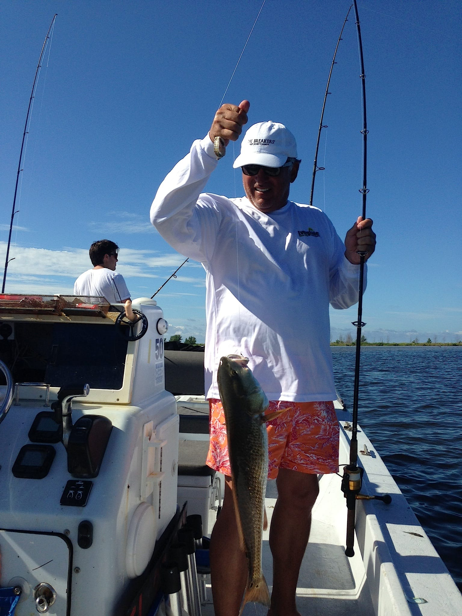8 29 13 fort myers fishing report redfish sanibel for Fishing charters fort myers