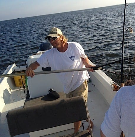 9 29 13 fort myers fishing report redfish net for Half day fishing trips fort myers