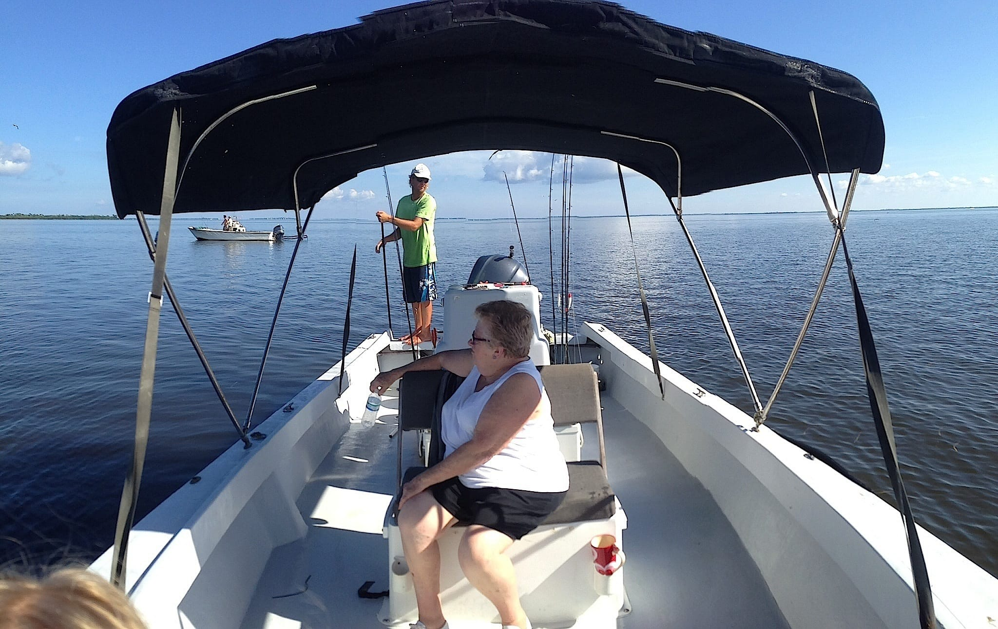 9 15 13 fort myers fishing report fishing the shallow for Fishing charters fort myers