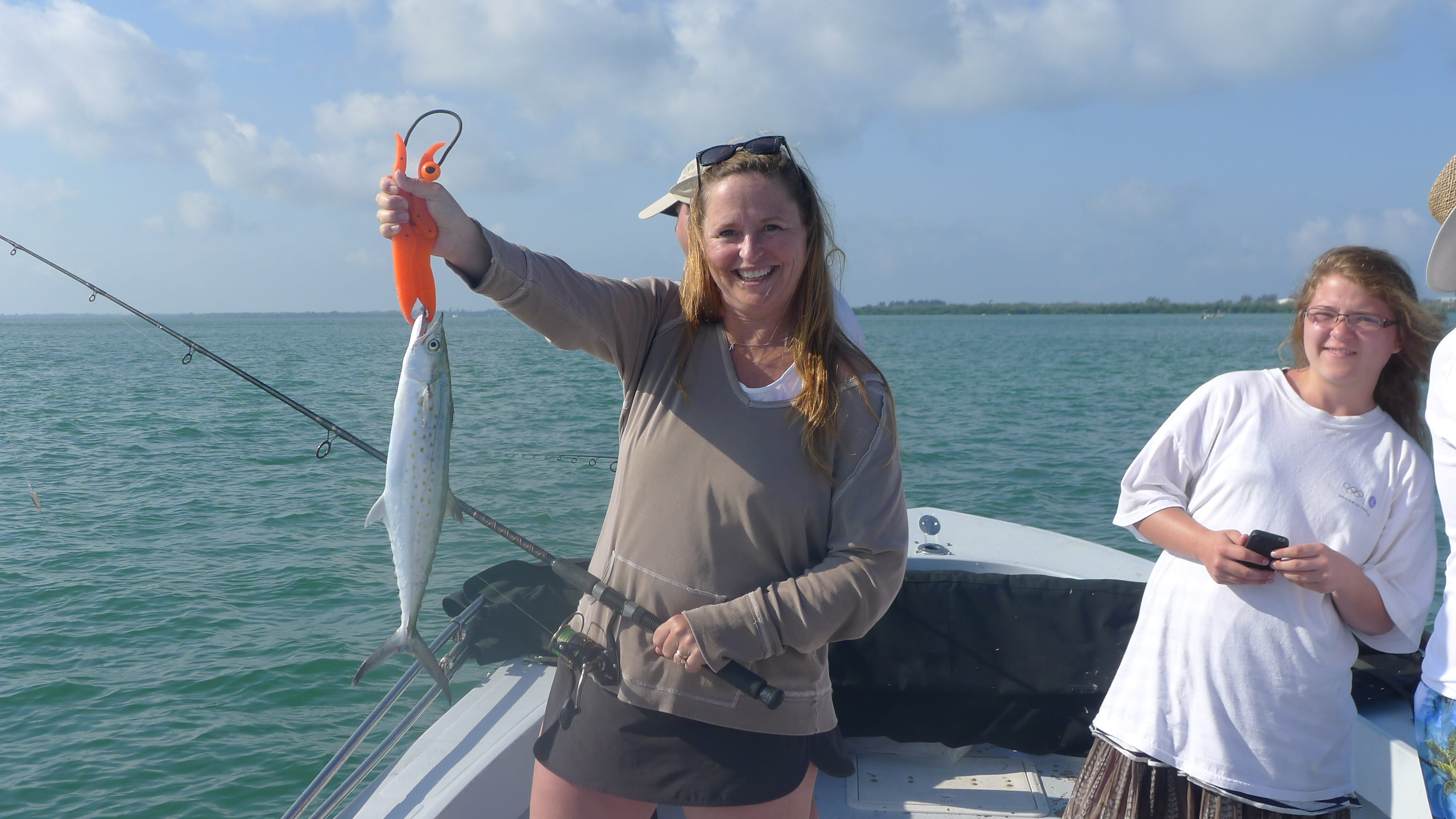 10 4 13 fort myers fishing report spanish mackerel for Fishing charters fort myers