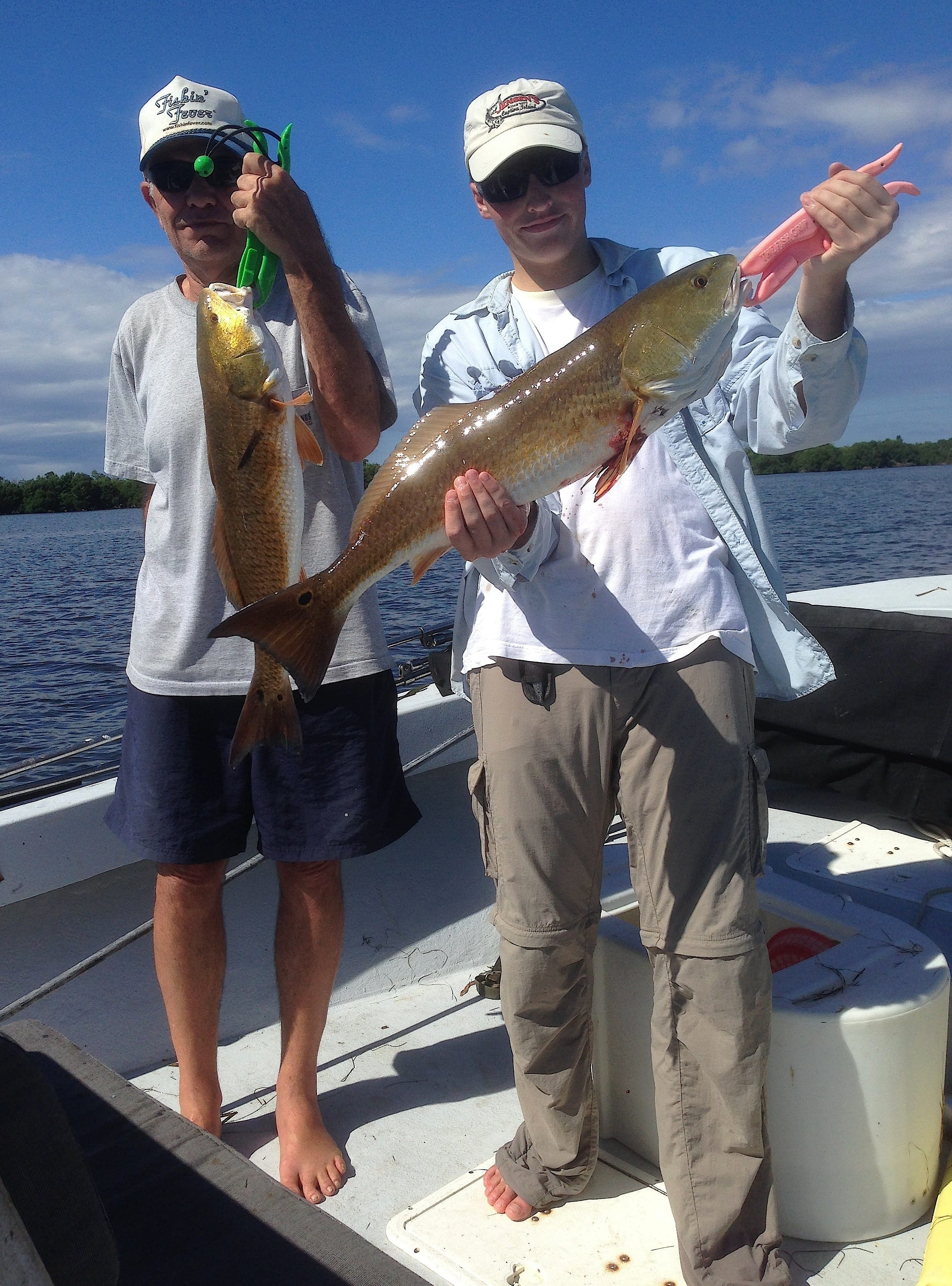 Fort myers fishing report 8 18 14 floyd charlie for Fishing charters fort myers florida