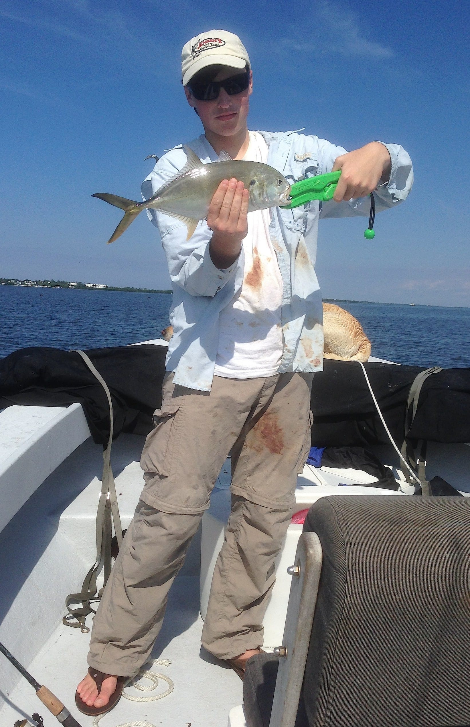 10 14 13 fort myers fishing report jack crevalle for Charlie s fishing report