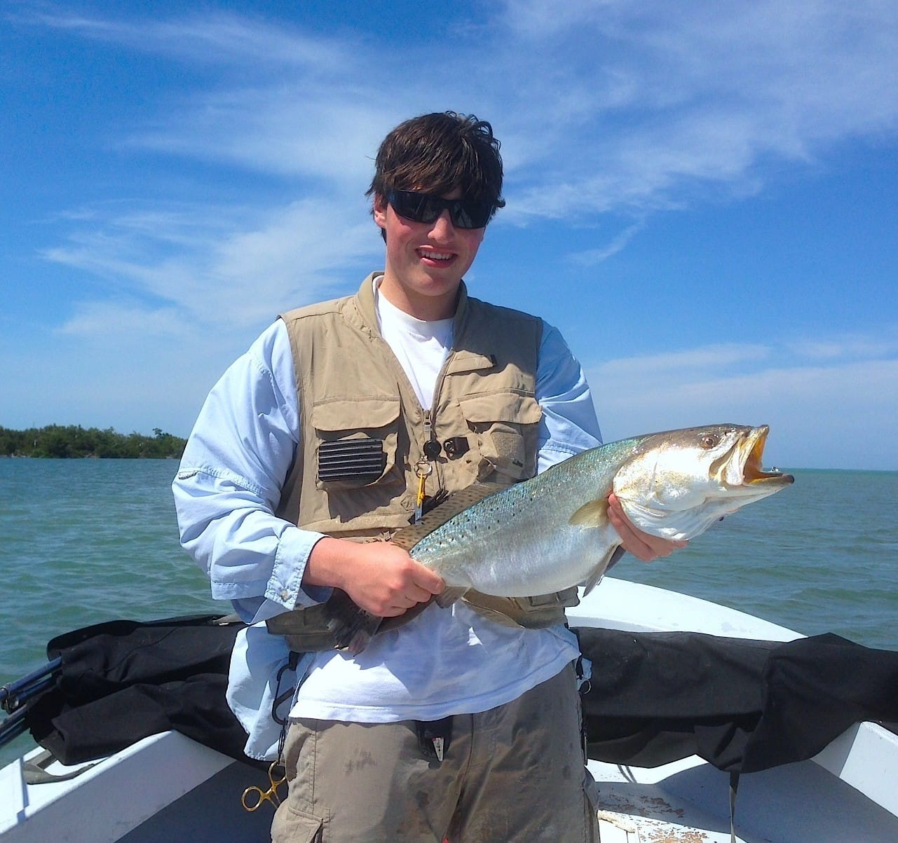 11 17 13 fort myers fishing report sea trout chadwick s for Fort myers fishing guides