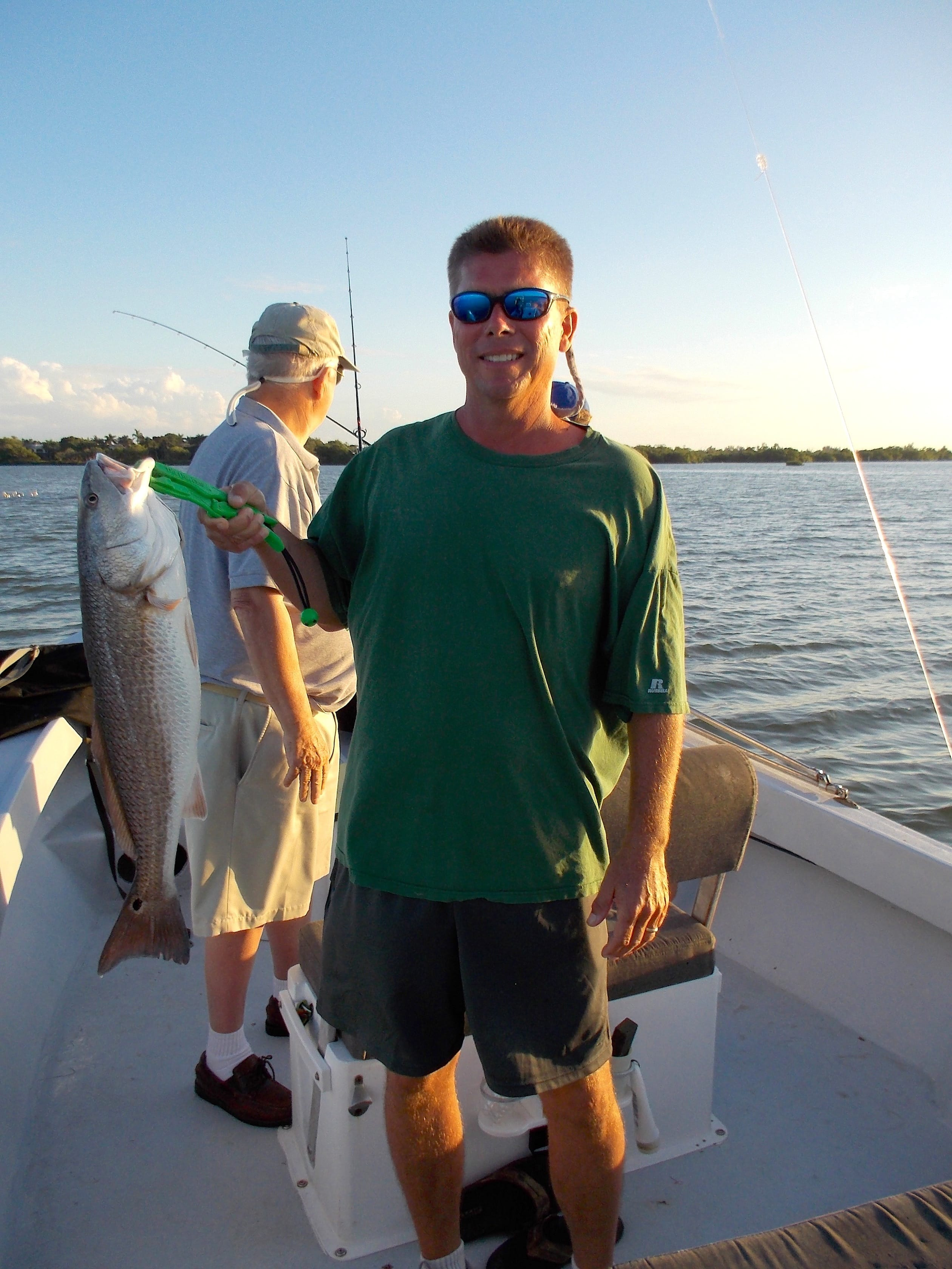11 24 13 fort myers fishing report redfish oyster bars for Fort myers fishing guides