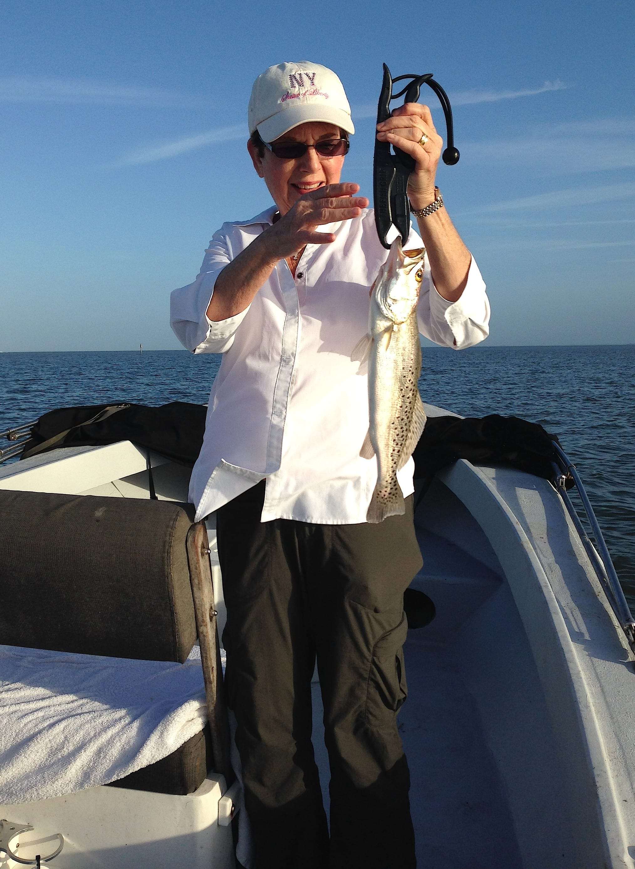 12 23 13 fort myers fishing report sea trout north for Fishing charters fort myers
