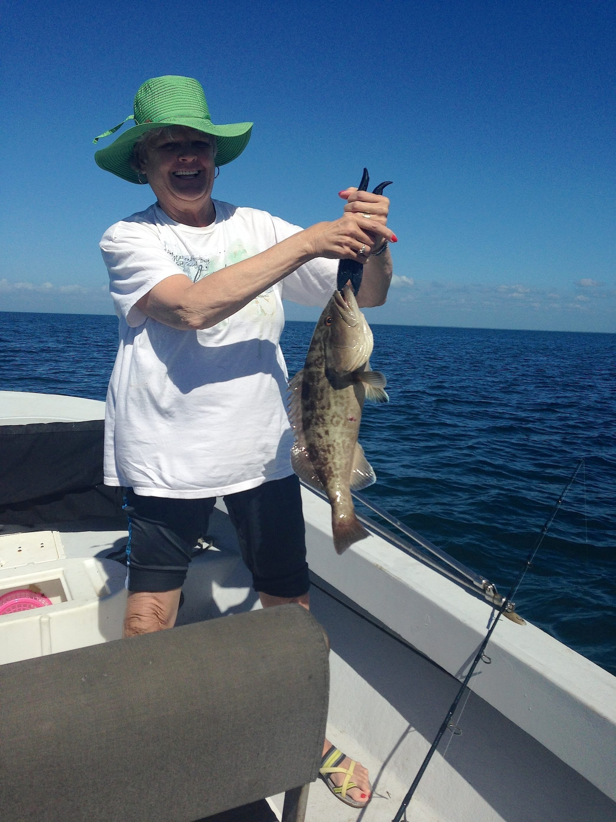 2 6 14 fort myers fishing report grouper fortmyers for Fishing in fort myers