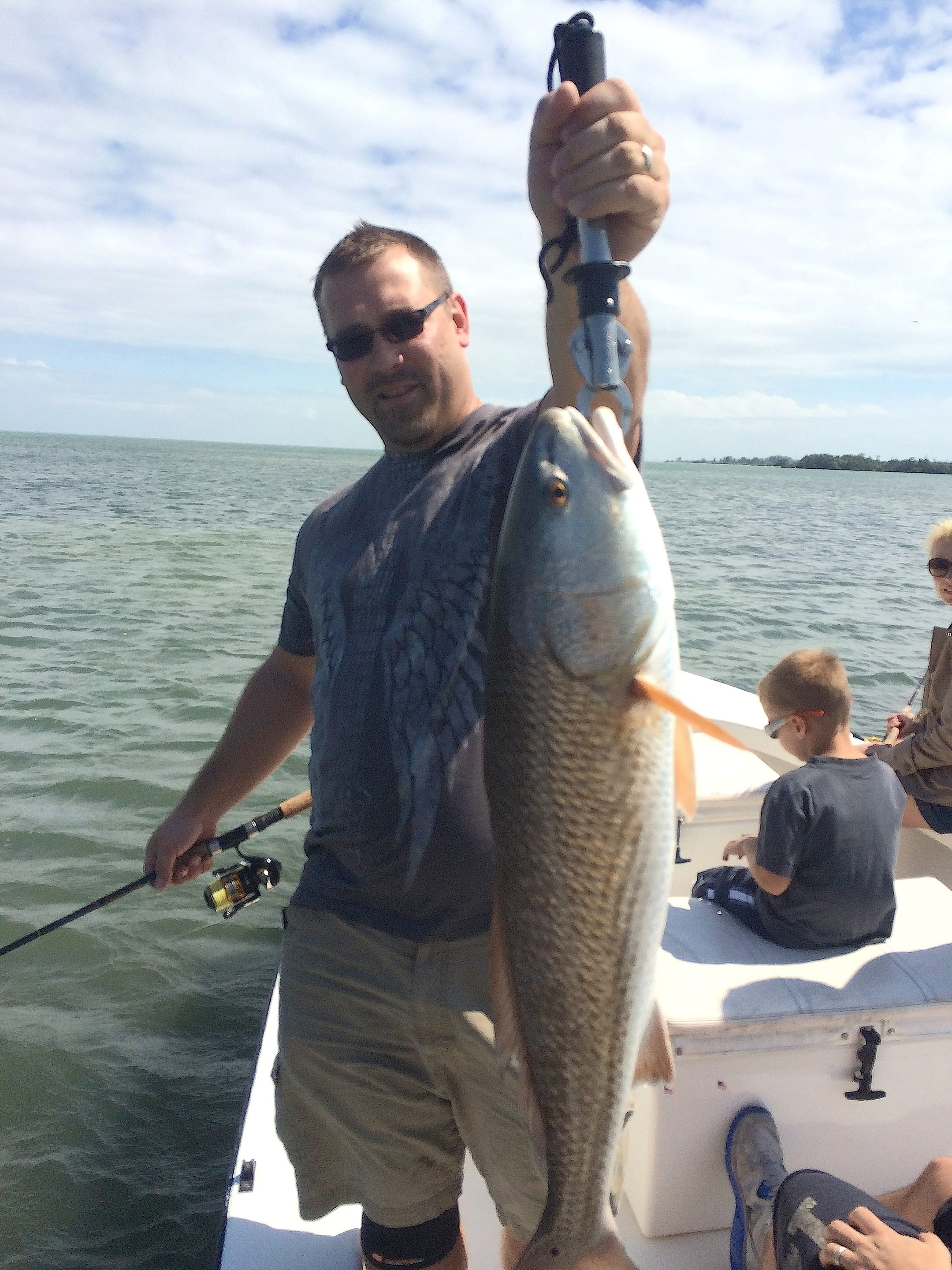 3 25 14 fort myers fishing report redfish fortmyers for Fishing charters fort myers