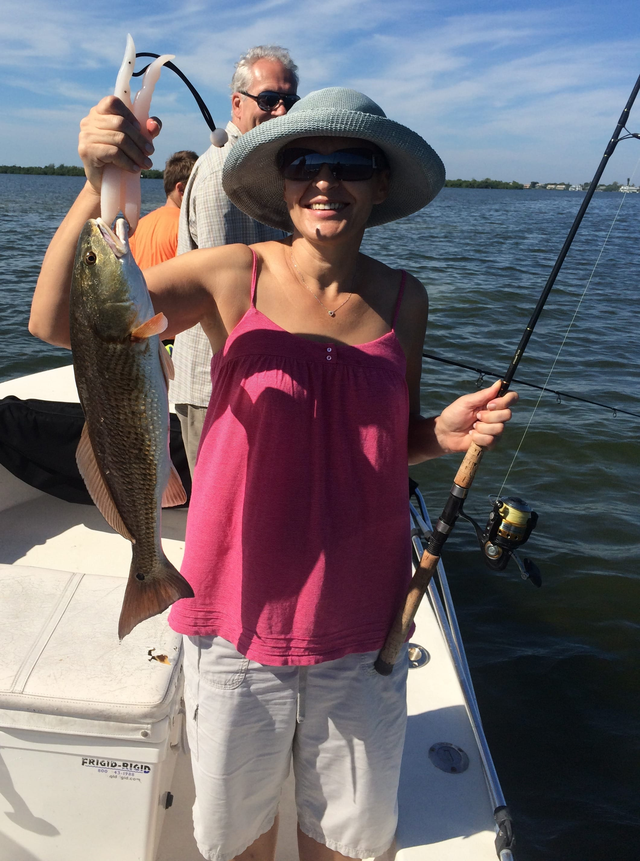 Fort myers fishing report 10 25 14 more redfish for Fishing charters fort myers