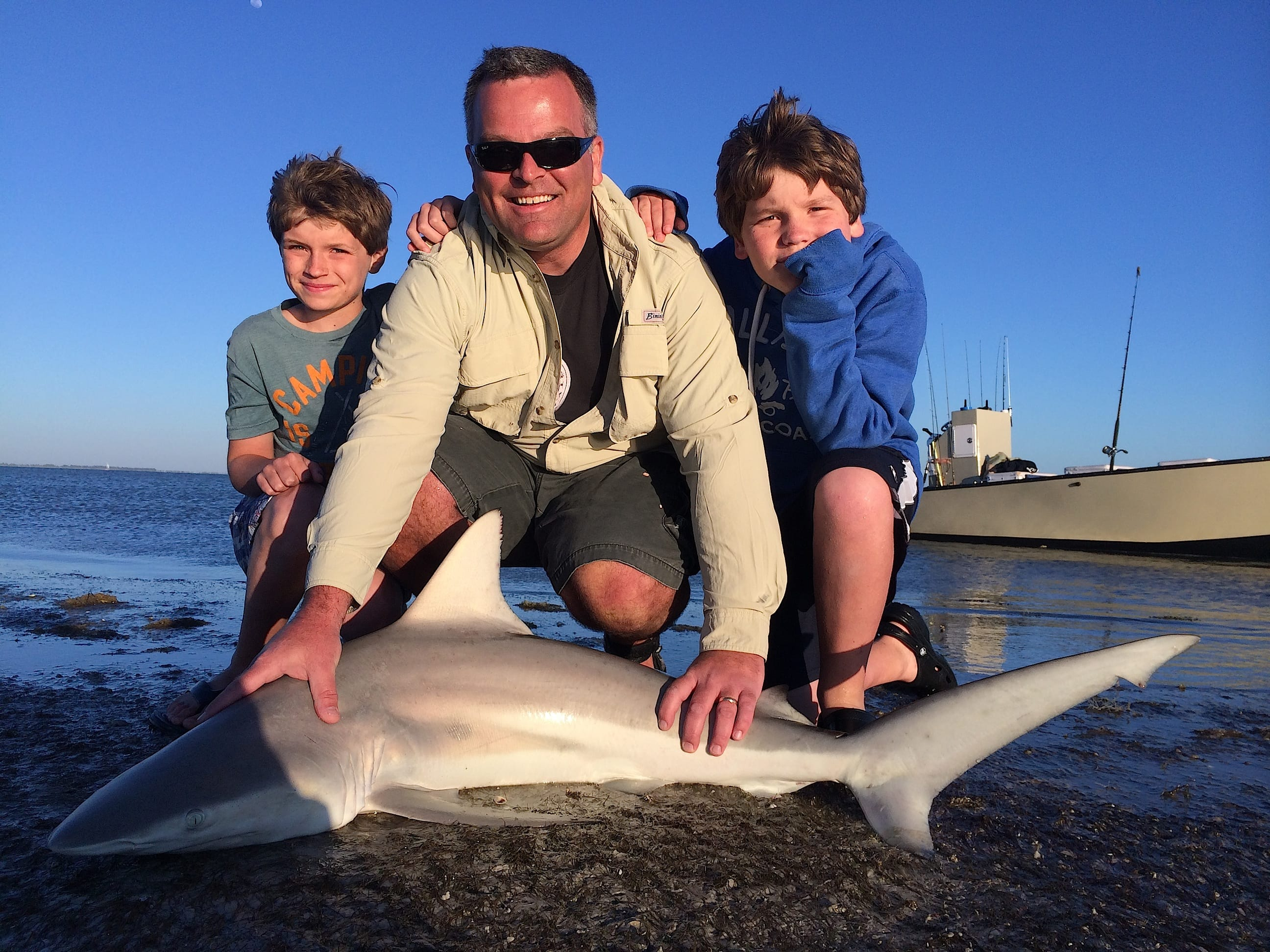 Fort myers fishing report 2 21 15 shark fortmyers for Ft myers fishing report