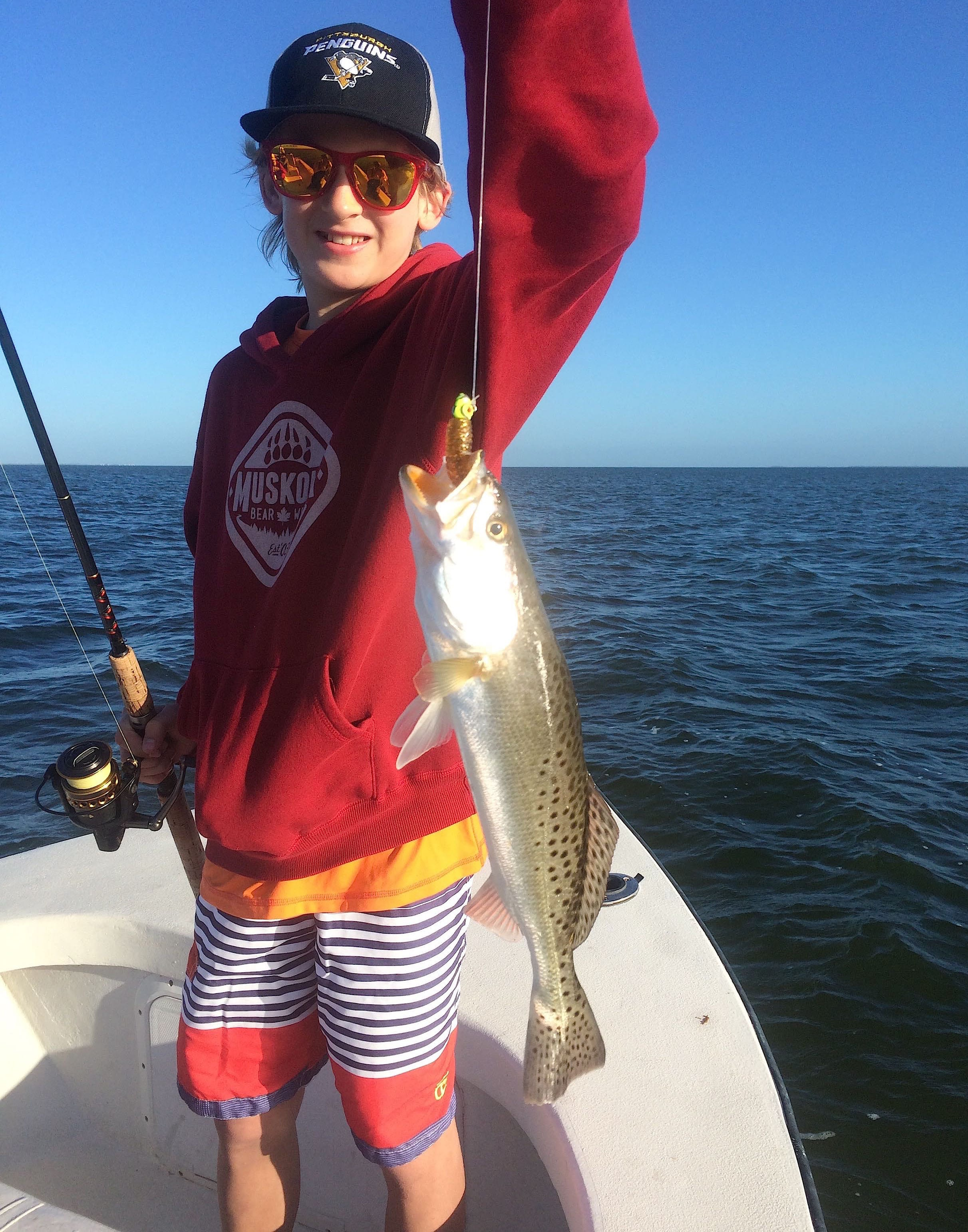 Fort myers fishing report 3 10 15 sea trout fortmyers for Ft myers fishing report